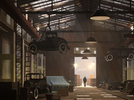 The Factory - 3D Environment