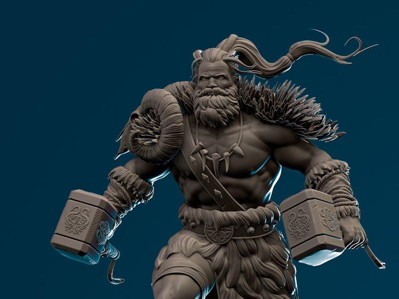 Barbarian Warchief