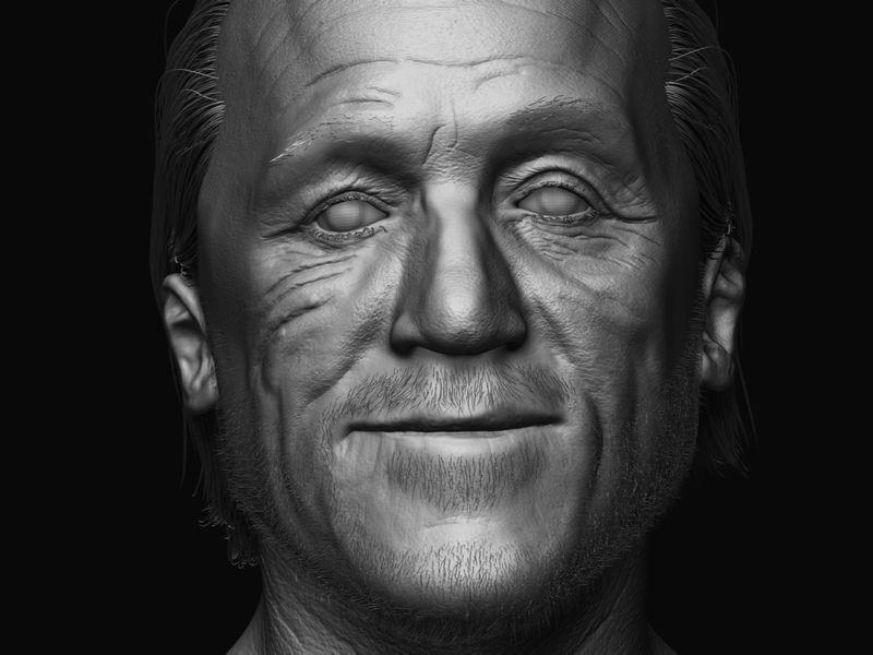 "Jerome ""Bronn"" flynn likeness sculpt"