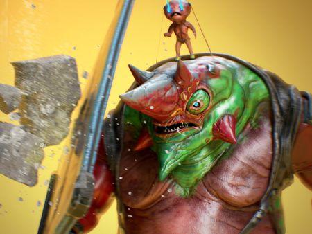 Lizardman Game Ready Character