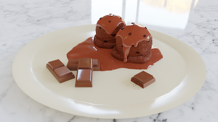 Plate of Chocolate