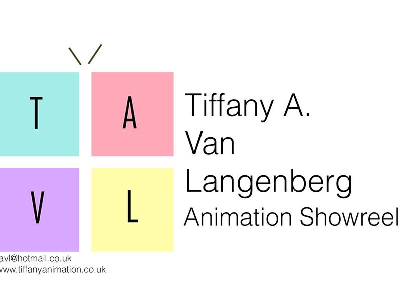 Tiffany Van Langenberg | Animation Showreel 2019