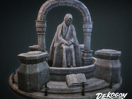 Dekogon - Graveyard Statue