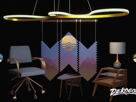 Dekogon + Think Tank - Arch Viz set