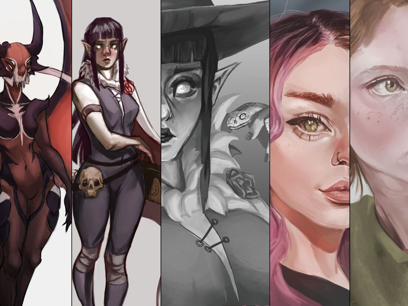 2020 Character Work