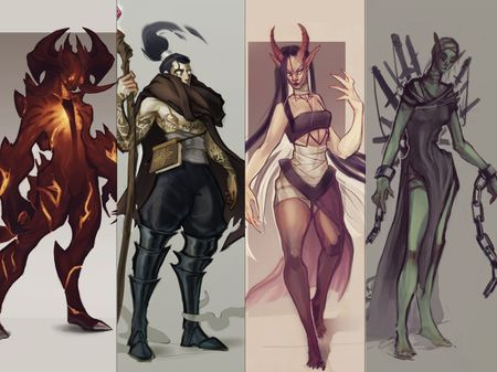 Character Illustrations and Portraits 2021