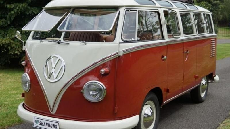 My red kombi