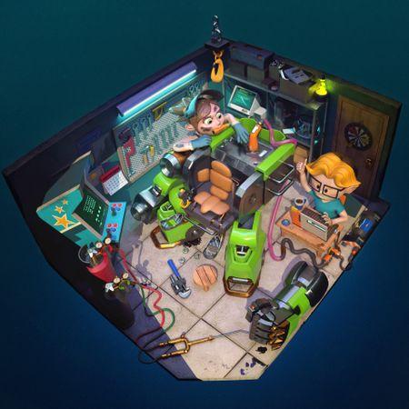 Mecha Room
