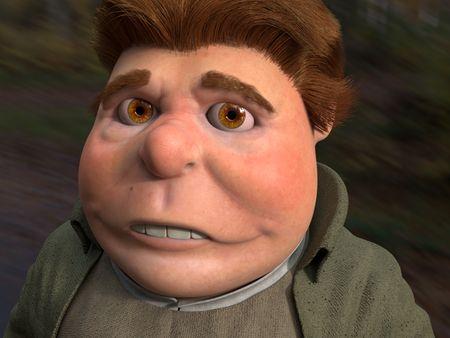 3D Character Concept - Bilbo Baggins