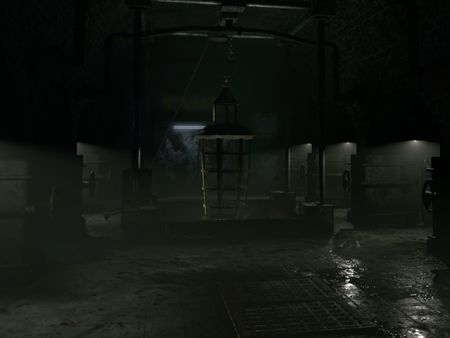 3D Environment - An abandoned secret facility