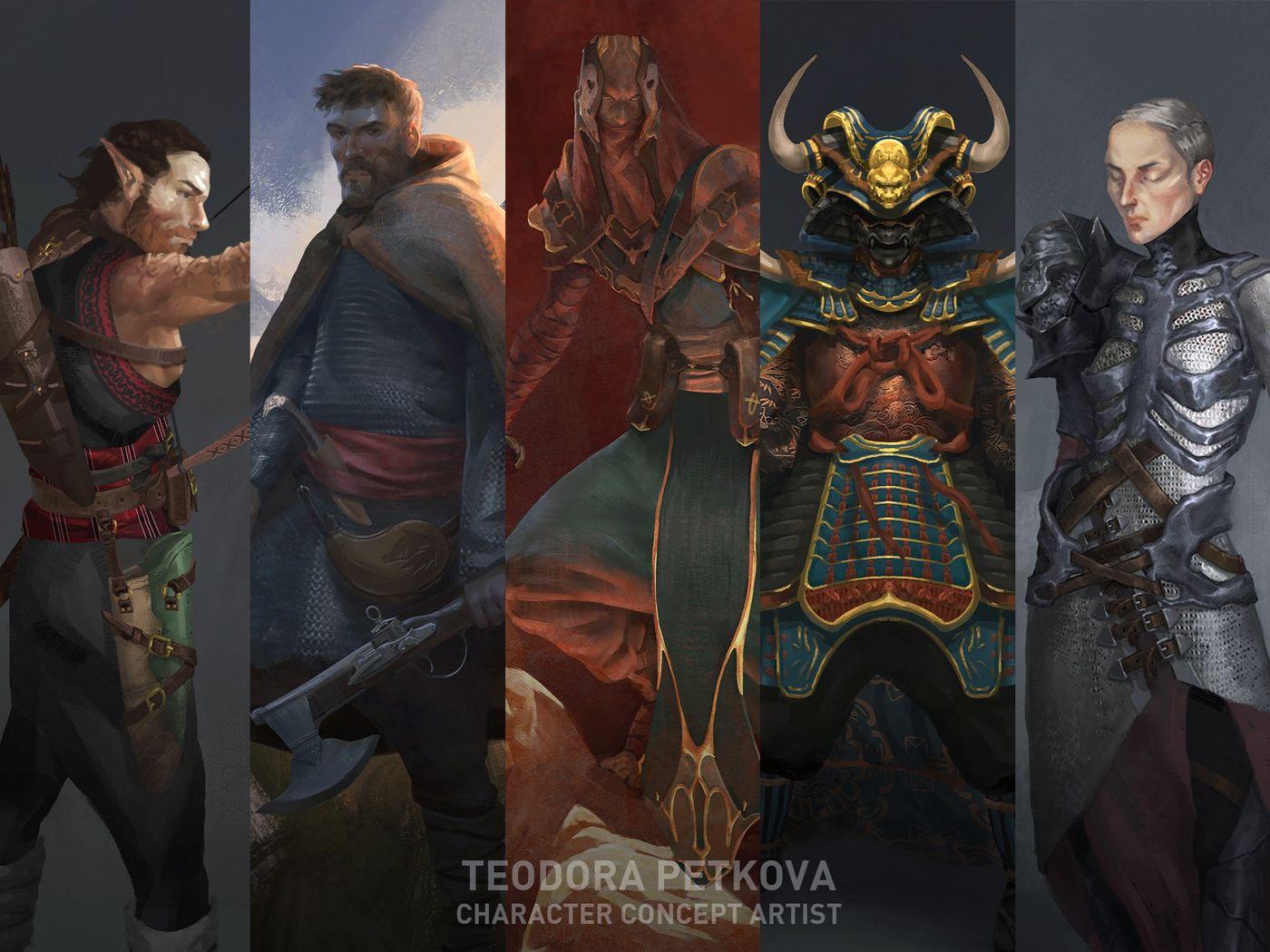 Teodora Petkova - Character Concept Art And Illustration