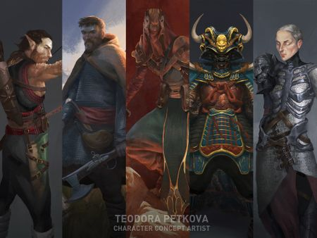Teodora Petkova - Character Concept Art And Illustration