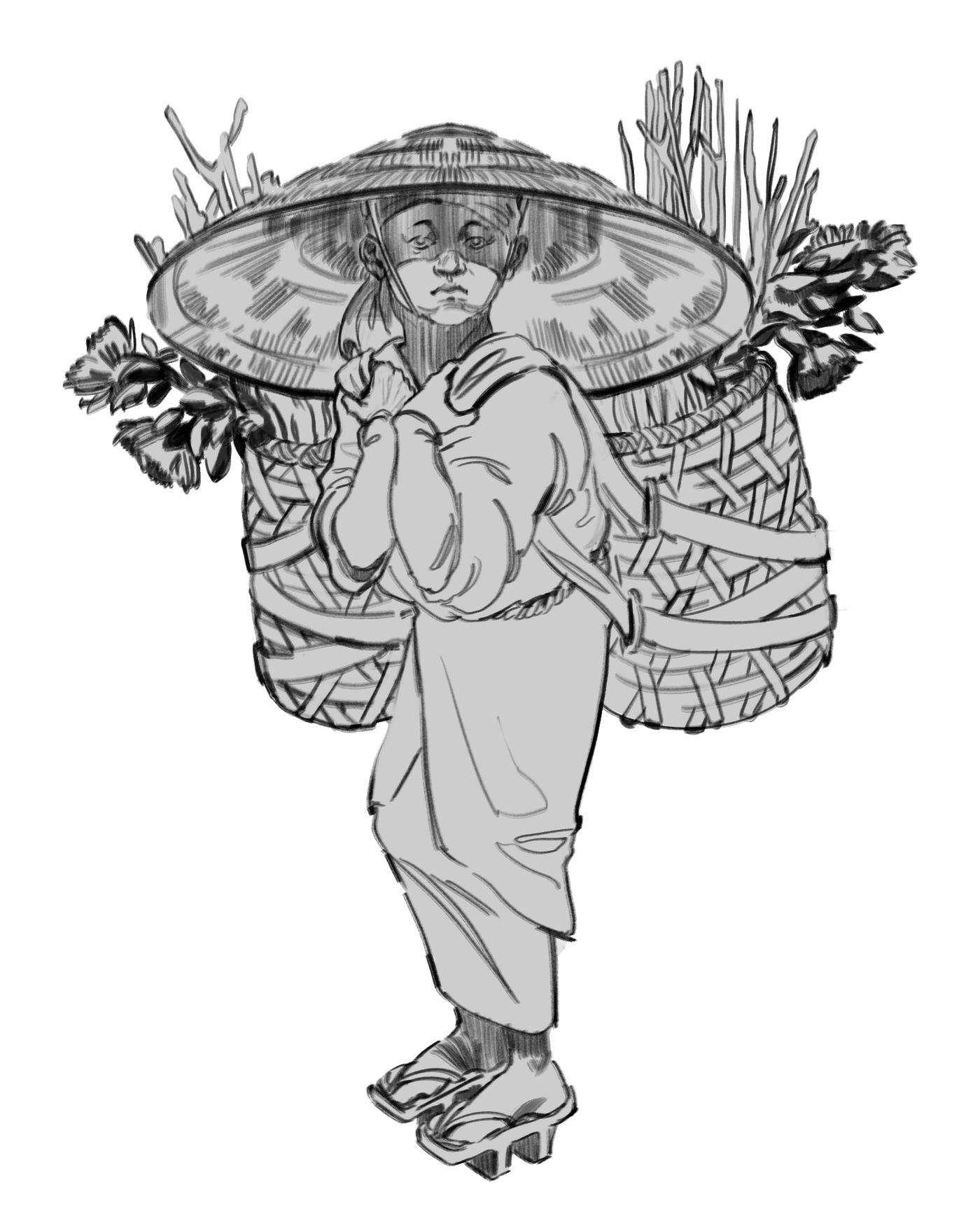 Peasant Sketch Teodorapetkova