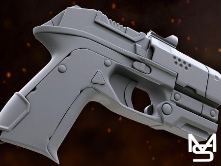 [WIP] Futurist Pistol