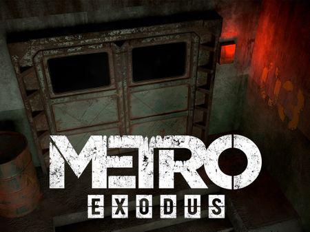 METRO EXODUS - ARMORED DOOR FANART