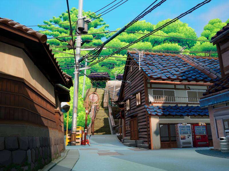 A Street in Kanazawa