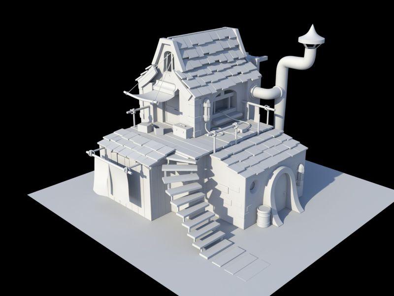 Exient House Design (3D Model)