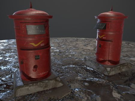 PostBox Design (4 Hrs Project)