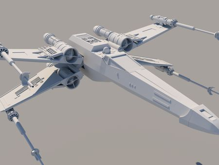X wing (3D model)