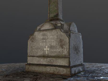 Headstone Design (Game Art - 2.5 Days)