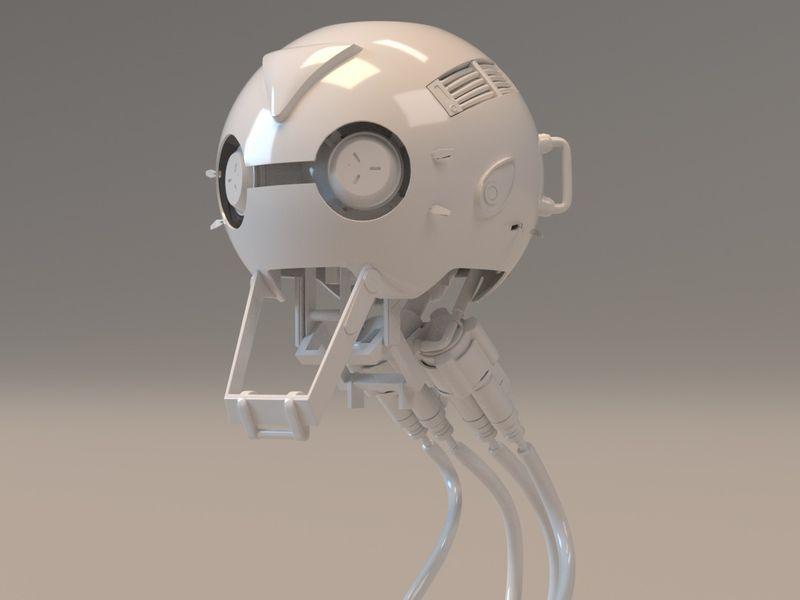 3D Highvoltage Hub W.I.P. (Concept by A46 studios)