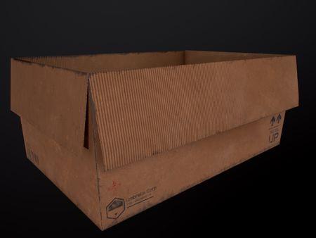 Carton Box (3D Asset )