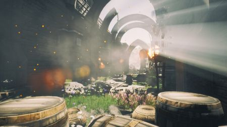 Forgotten Sanctuary with Unreal Engine