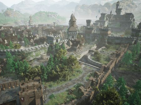 The  Valley with Unreal Engine Level Design