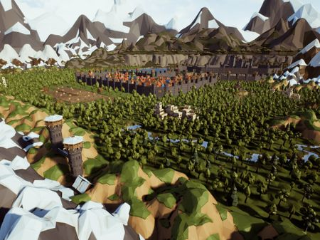 The Valley of the Castle with Unreal Engine