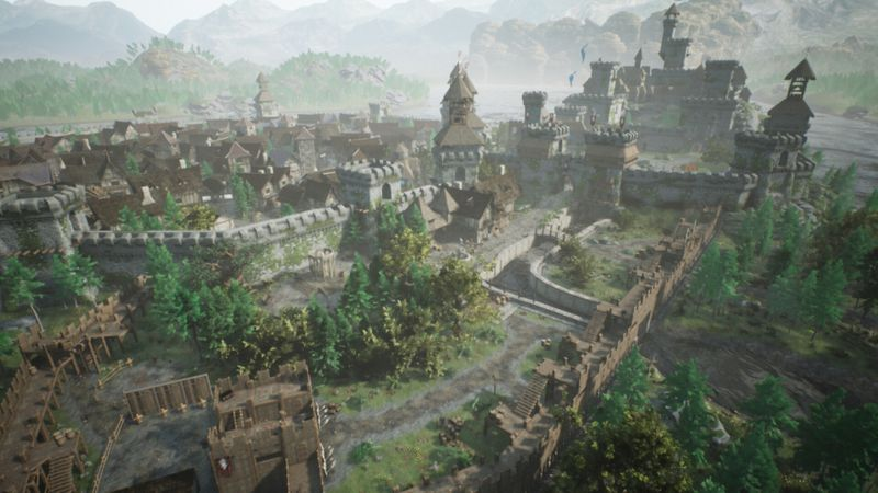 The Valley with Unreal Engine