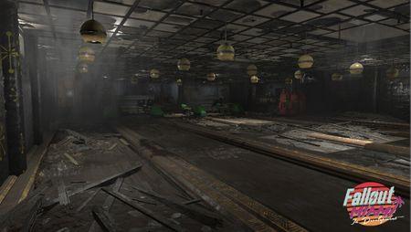 Abandoned Bowling House (Fallout 4 Miami)
