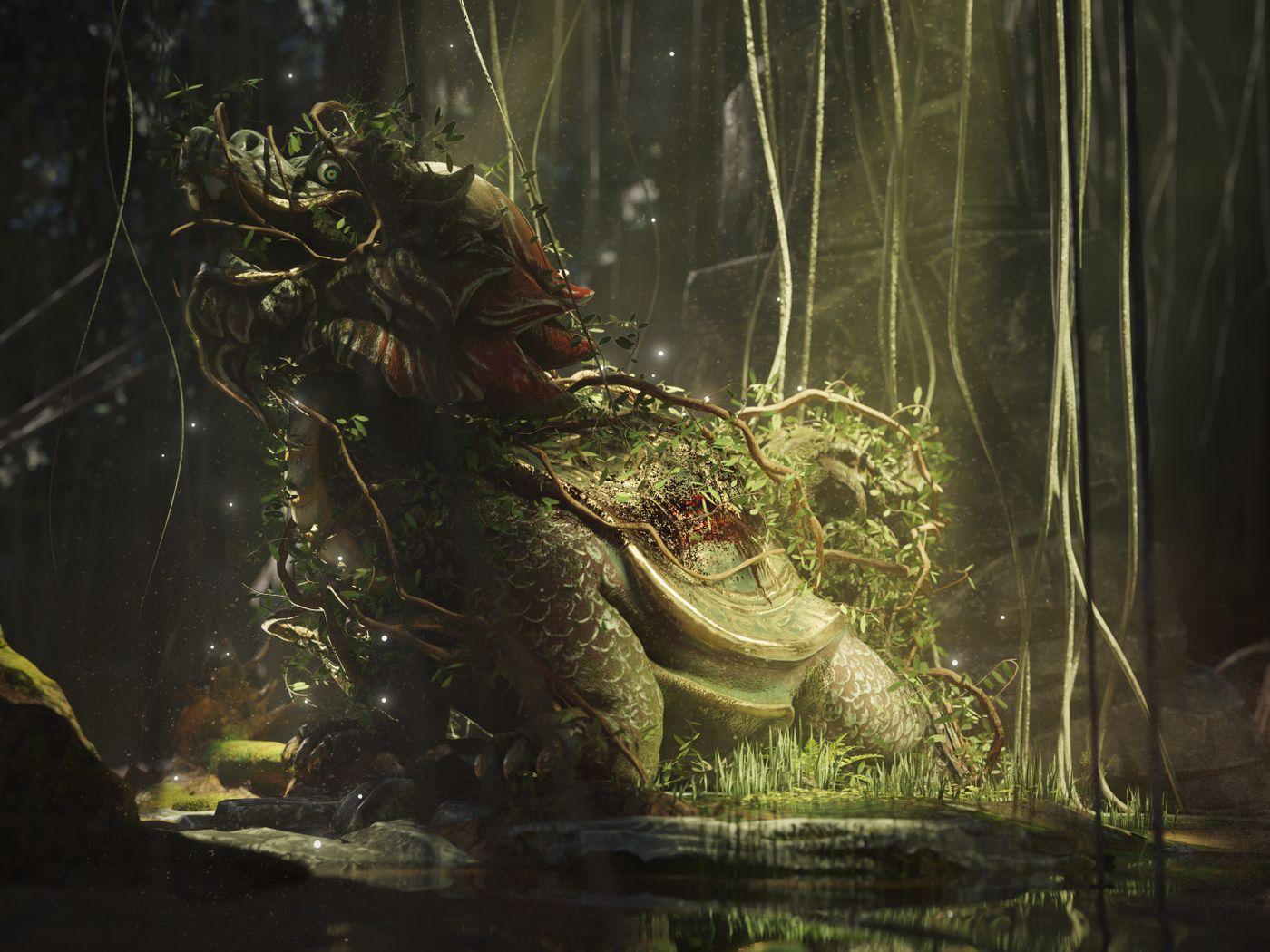 Oriental Dragon Turtle