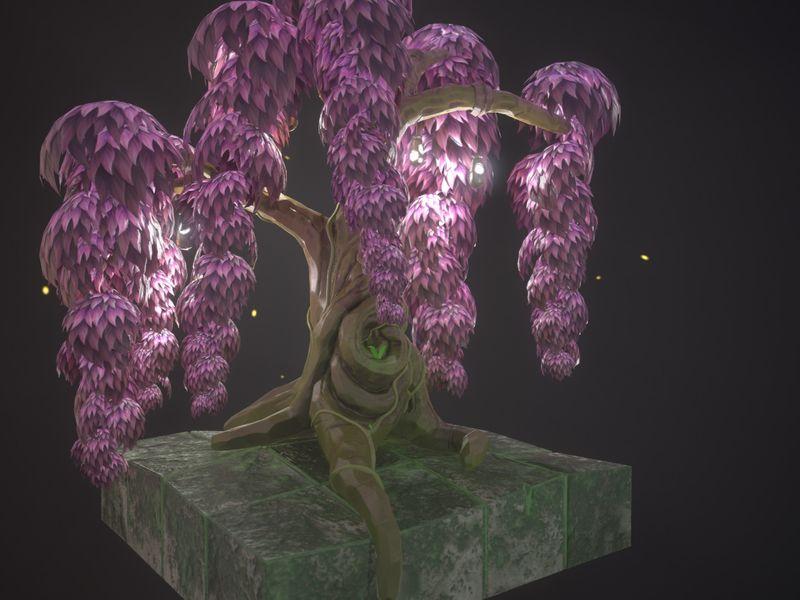 Spyro Style Swamp Tree Treasure