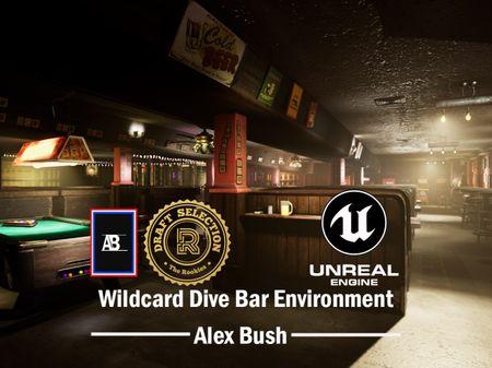 Wildcard Dive Bar Game Environment - Alex Bush