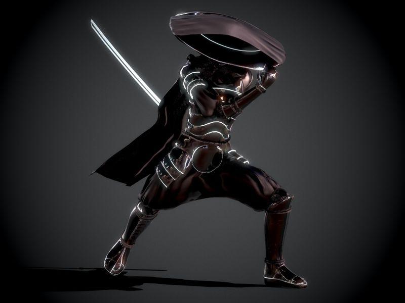 Sci-fi samurai