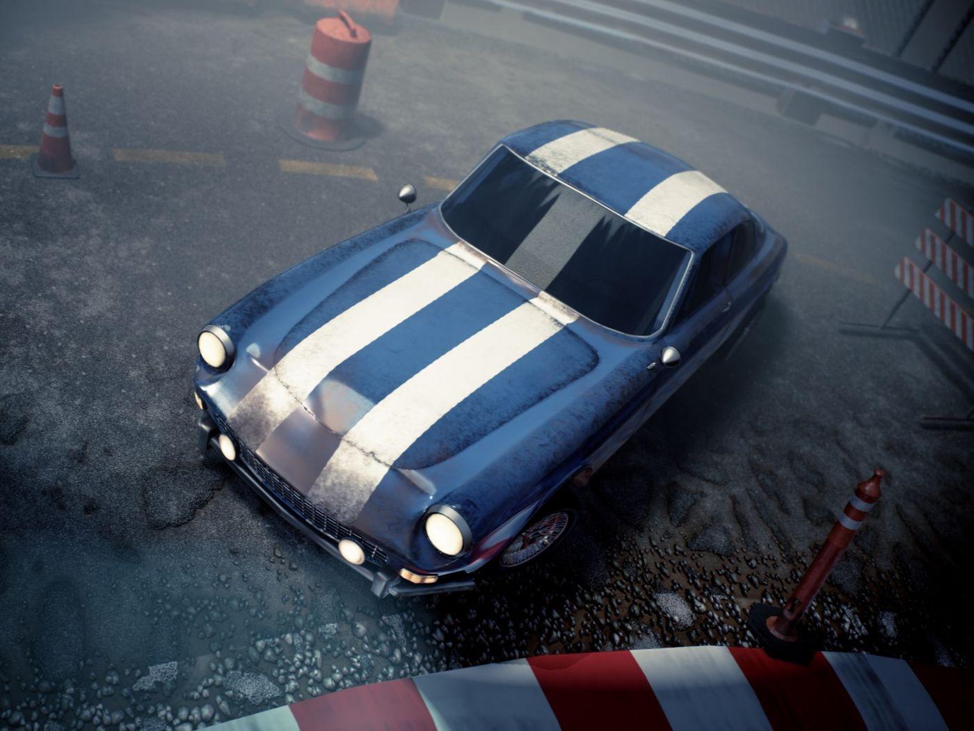 Old Ferrari Racer