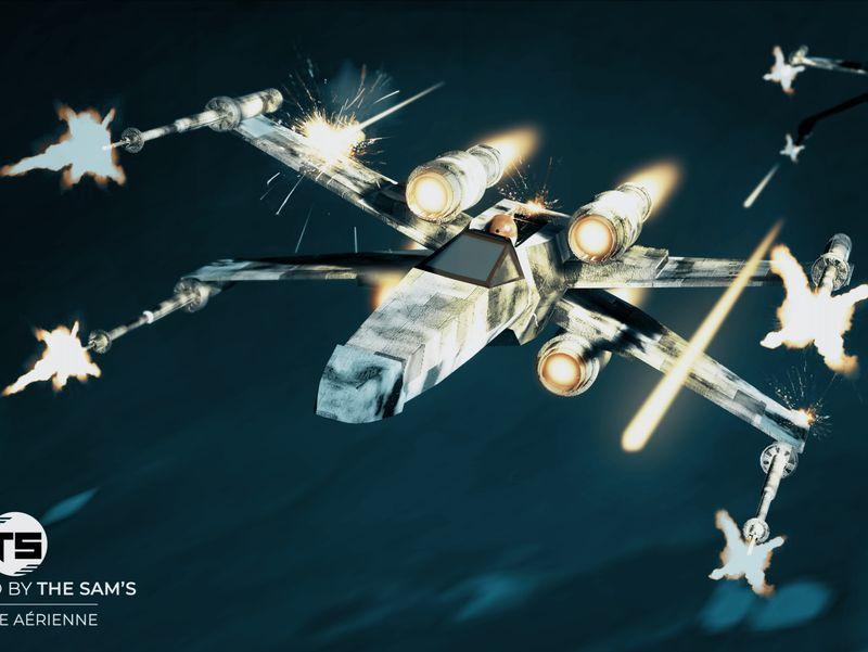Bataille aérienne!