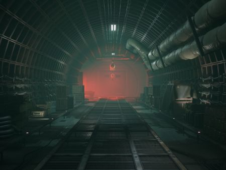 Bunker - Unreal Engine 4 relighting