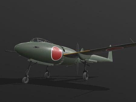 Mitsubishi J4M Senden