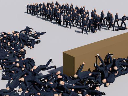Houdini Crowd Simulations | Graduation Work
