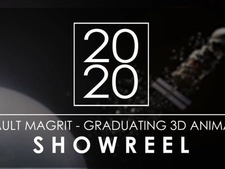 GRADUATING 3D ANIMATOR - 2020 SHOWREEL