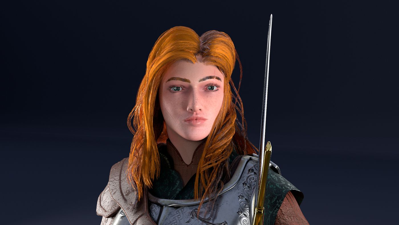 Alma, the Warmaiden