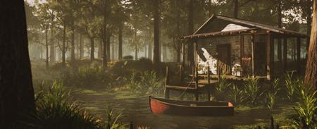 Swamp Cabin