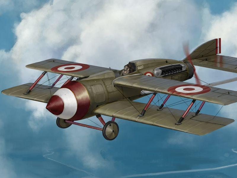 G457 Biplane