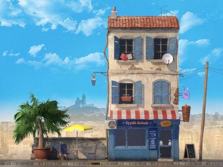 Kebab in Marseille