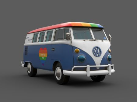 Substance Texturing Challenge - Kombi - Thank you NHS