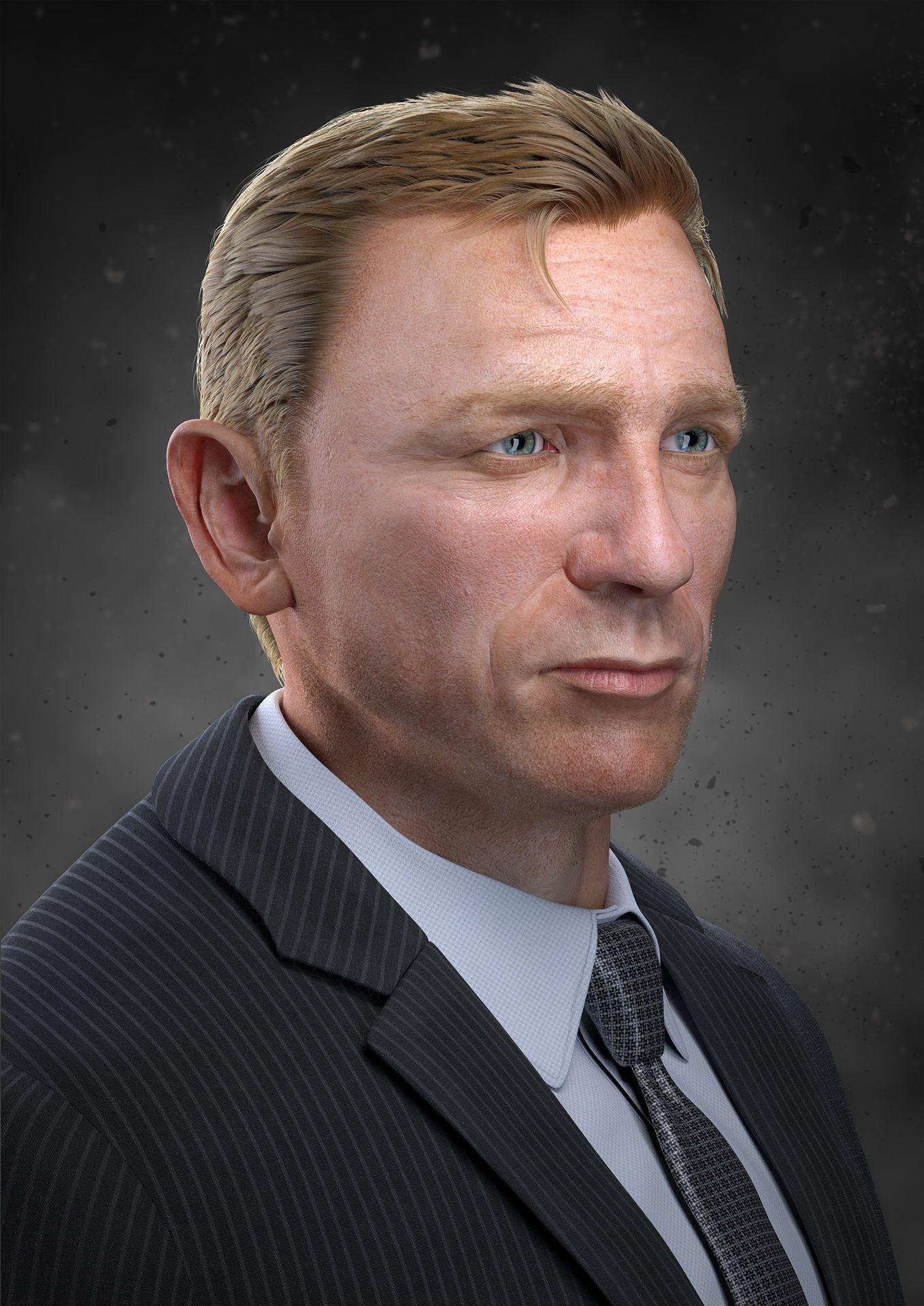 Daniel%20 Craig%20 Portrait%203 Thomasongo