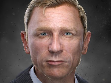 Daniel Craig Portrait