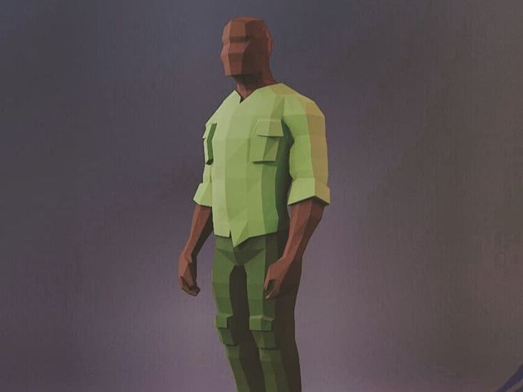 Low poly characraters