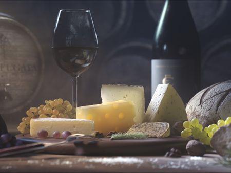 Still Life - Cheese Platter